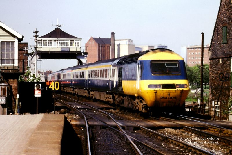 HST125 at Selby Bridge